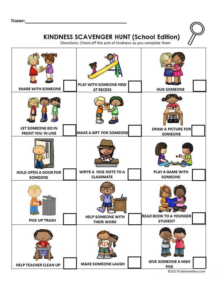 Acts of Kindness Ideas for Kids With Free Printable ...