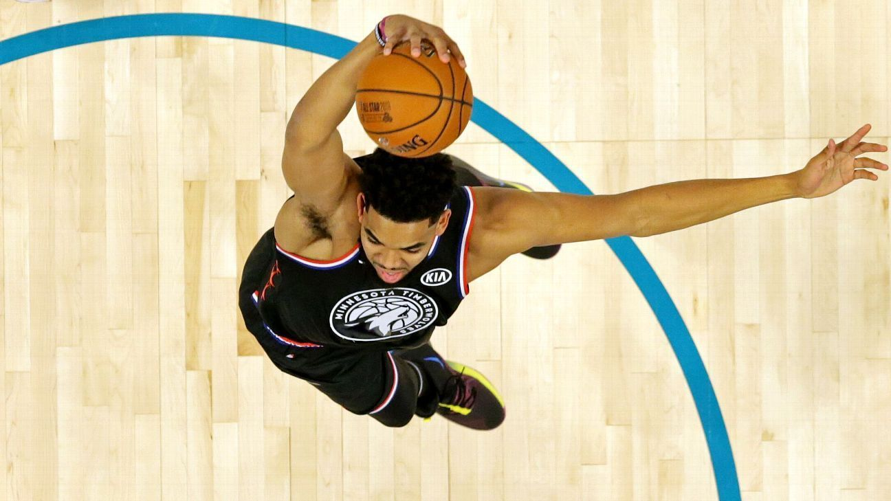 Who is No. 1 in fantasy drafts KAT, Giannis, AD, Steph