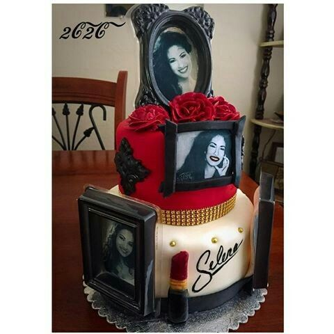 Enjoyable Selena Quintanilla Birthday Cake Selena Quintanilla Birthday Funny Birthday Cards Online Kookostrdamsfinfo
