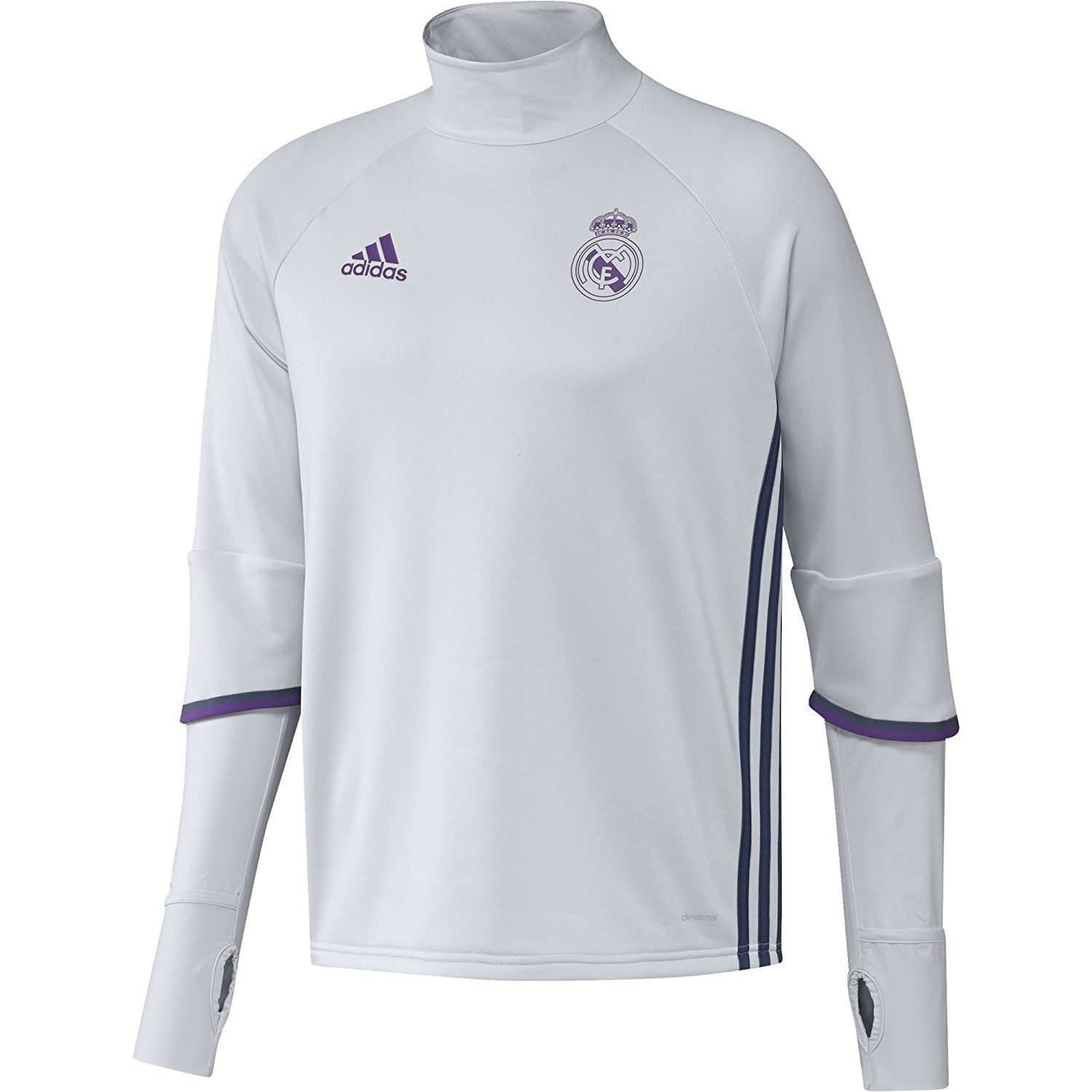 4df5c9317 adidas REAL TRG TOP -Sweatshirt - Ligne Real Madrid CF pour Homme. #adidas