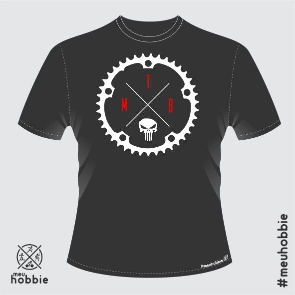 Camiseta mountain bike #meuhobbie mtb