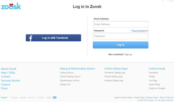 how did zoosk get my email address