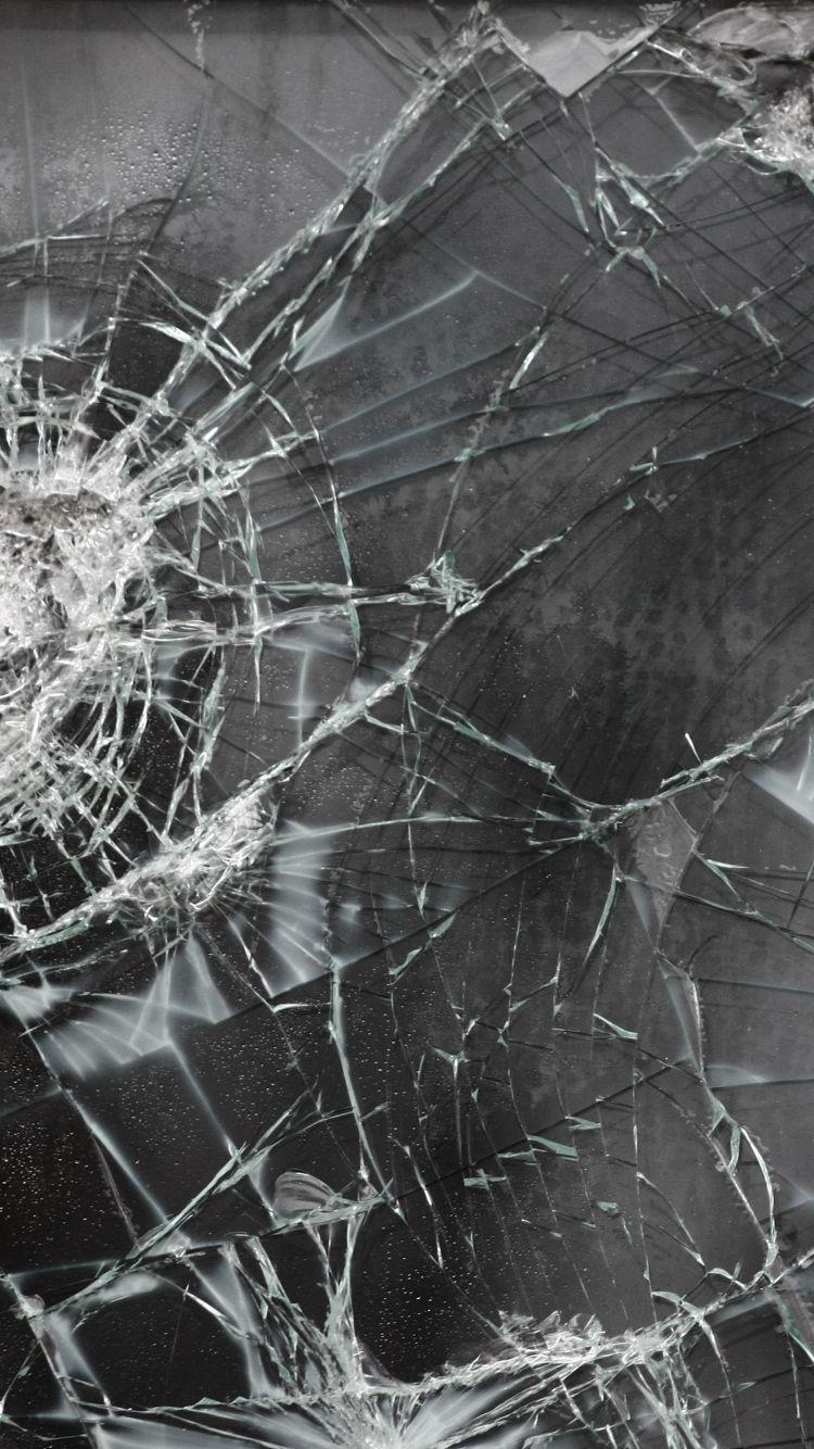 Картинка разбитого экрана для айфона