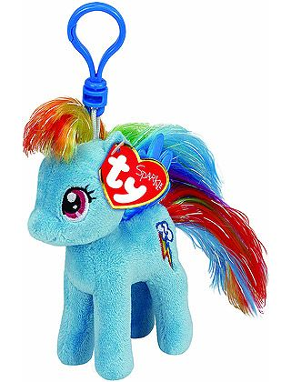 3f50a36e628 Rainbow Dash Key Clip - TY My Little Pony