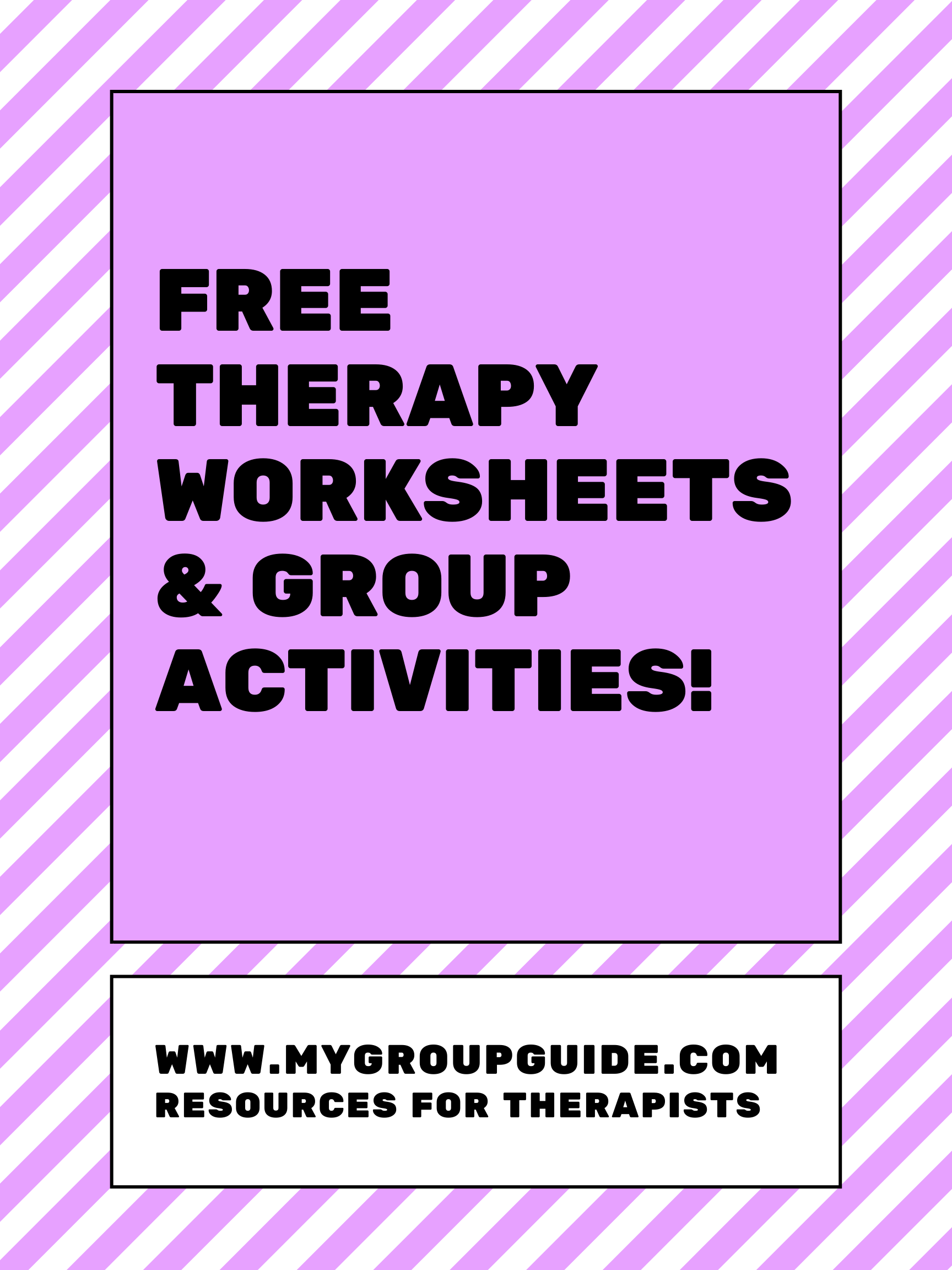 Learn More About Our Therapy Resources In