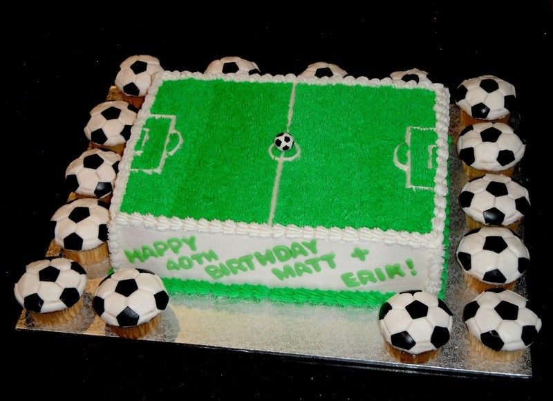 403 Forbidden Soccer Cake Kids Party Treats Sports Themed Cakes