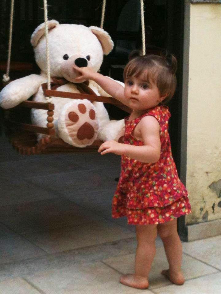 #Urso #Pelúcia #Criança #Bebê #Menina #Girl #BalacobacoBrasil #Balacobaco