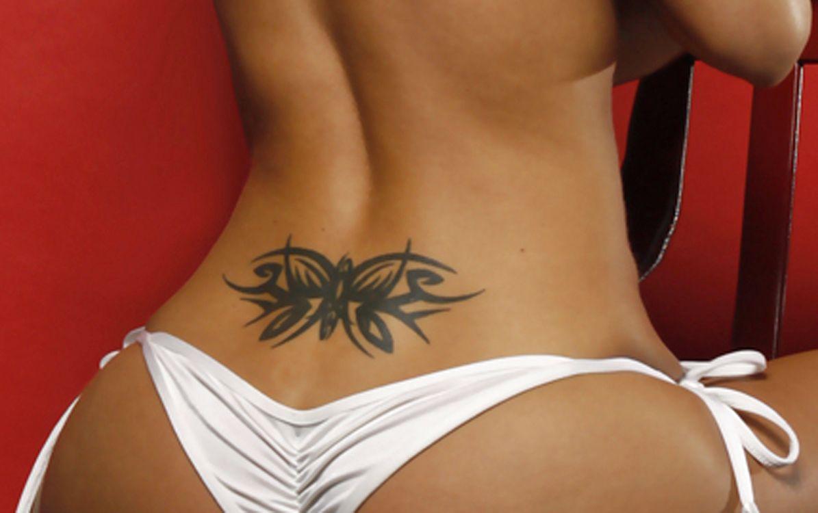 low back tattoo