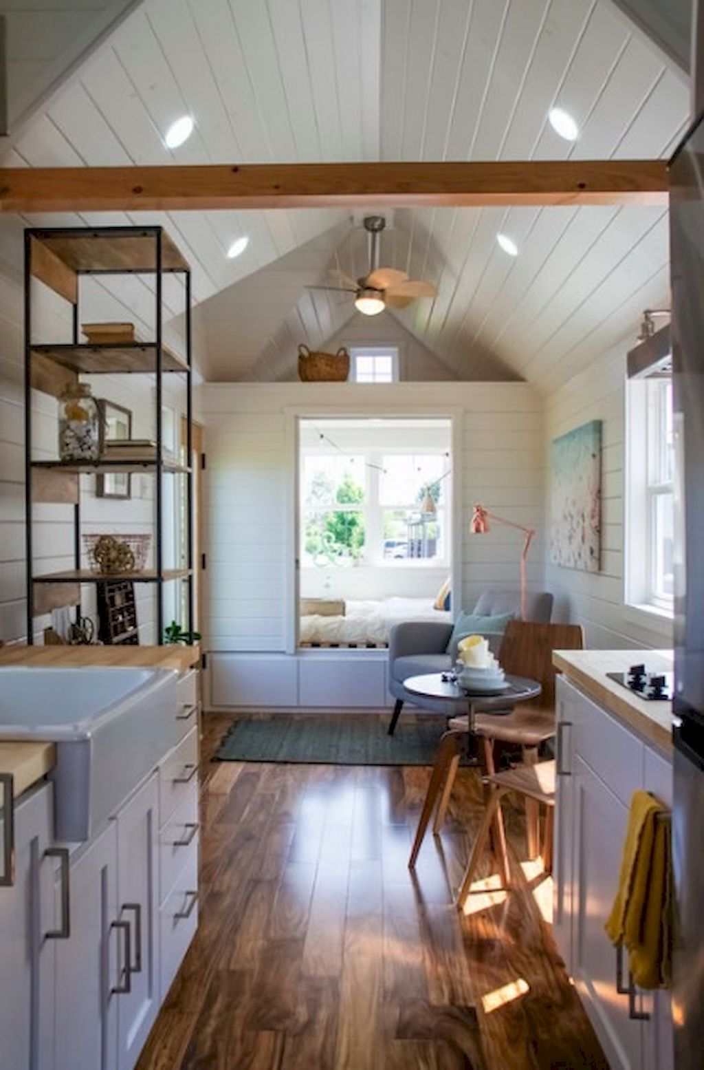 tiny house kitchen ideas less is much more as well as these 33 remarkable tiny house cooking areas prove it tinyhousekitchen tinyhouse  [ 1024 x 1555 Pixel ]