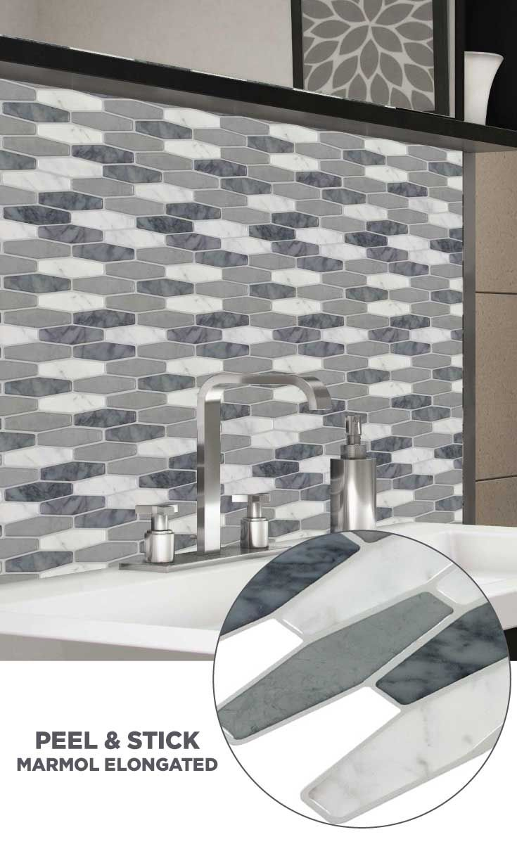- Tile #lowes #mosaics #glassmosaics #backsplash PS106PEEL1010