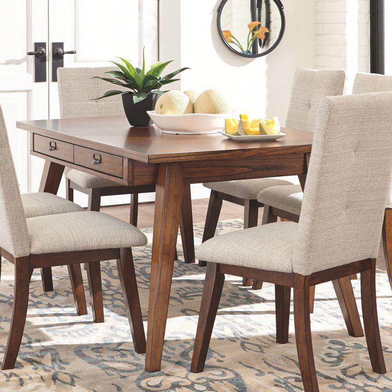 Signature Design By Ashley Centiar Rectangular Dining Table Dining Room Table Rectangular Dining Table Dining Table