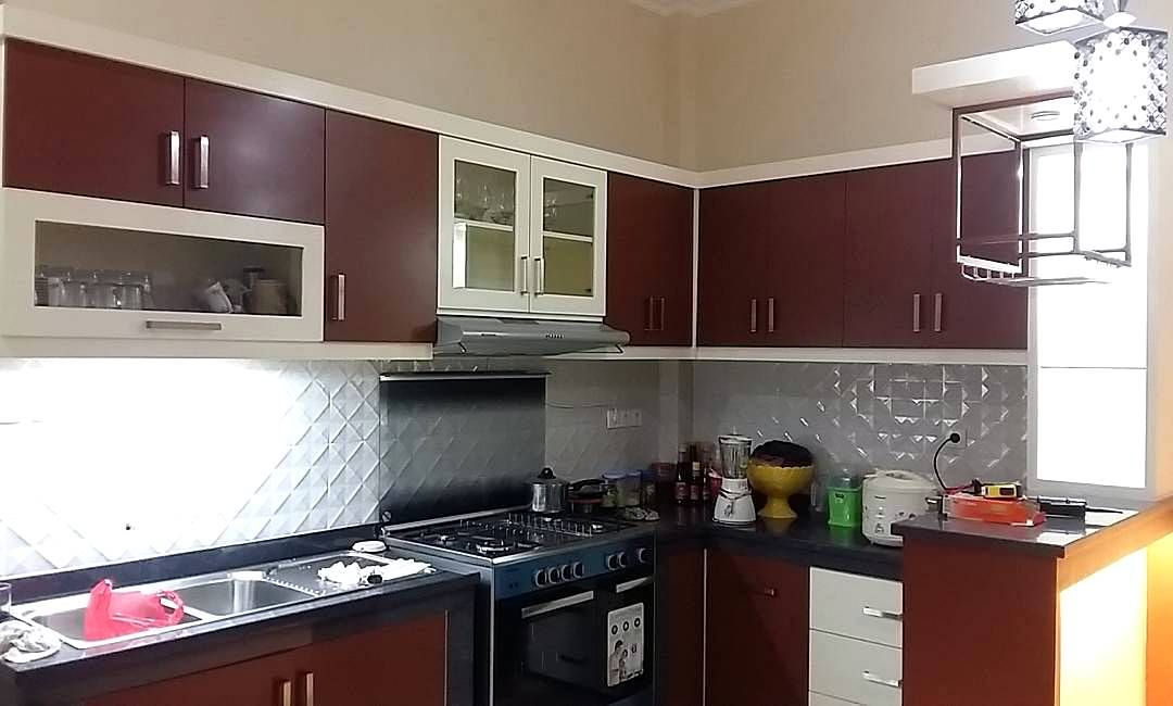 Ide kitchen set sederhana dapur minimalis idaman for Kitchen set aluminium sederhana