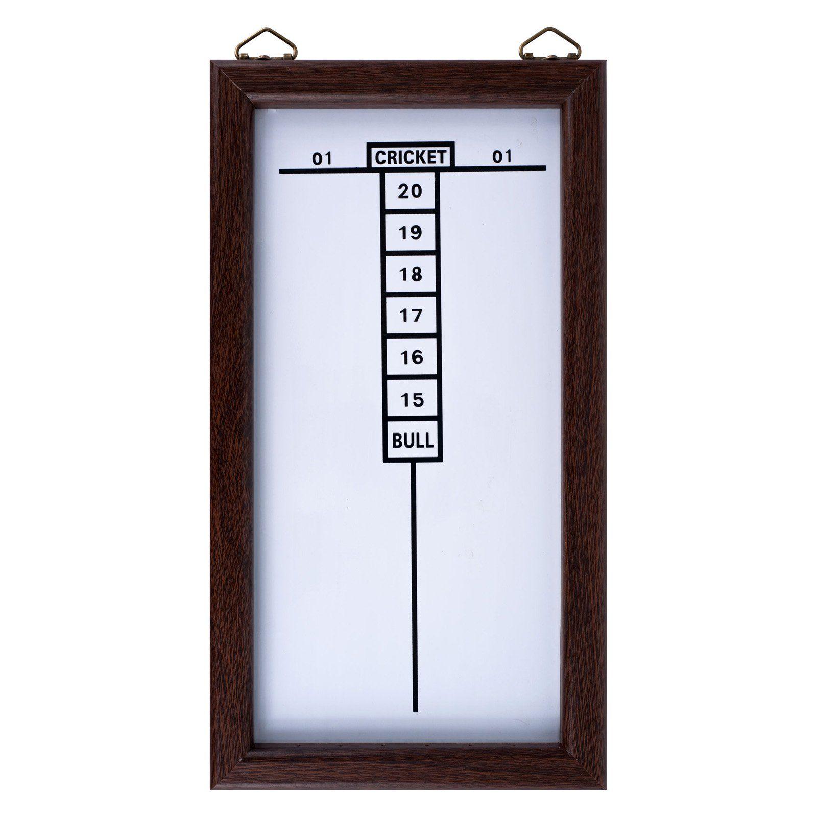 Dry Erase Dart Board Cricket Scoreboard 1532506