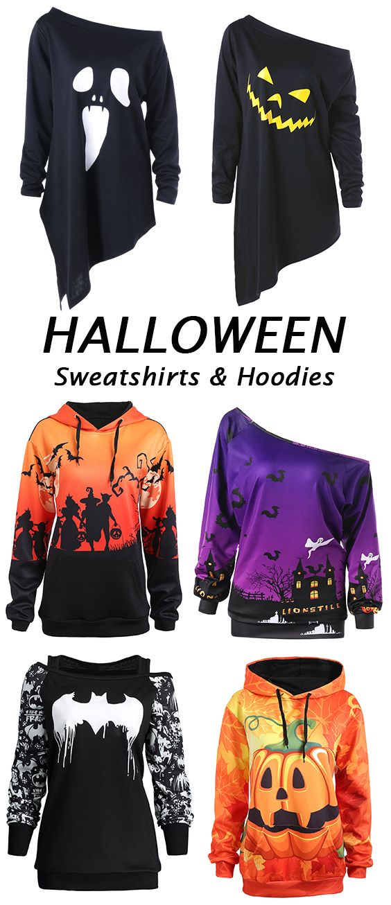 a9942ed6246 100 more Best Halloween hoodies for women.Shop this look at great prices.Free  shipping worldwide!