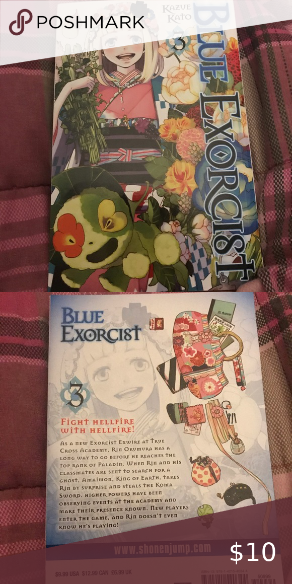 Blue Exorcist Manga Vol 3 Brand New Undamaged Target Other Blue Exorcist Blue Fun