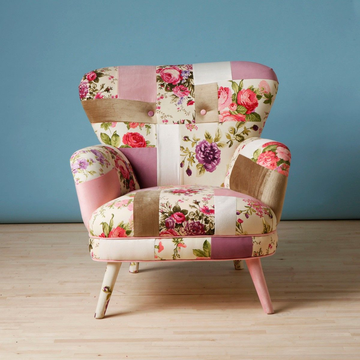 Floral Armchair Slipcovers