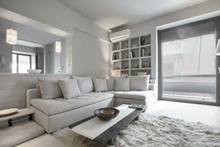 Ton in Ton Einrichtung – Grau & Weiß für die Interieur Gestaltung ...
