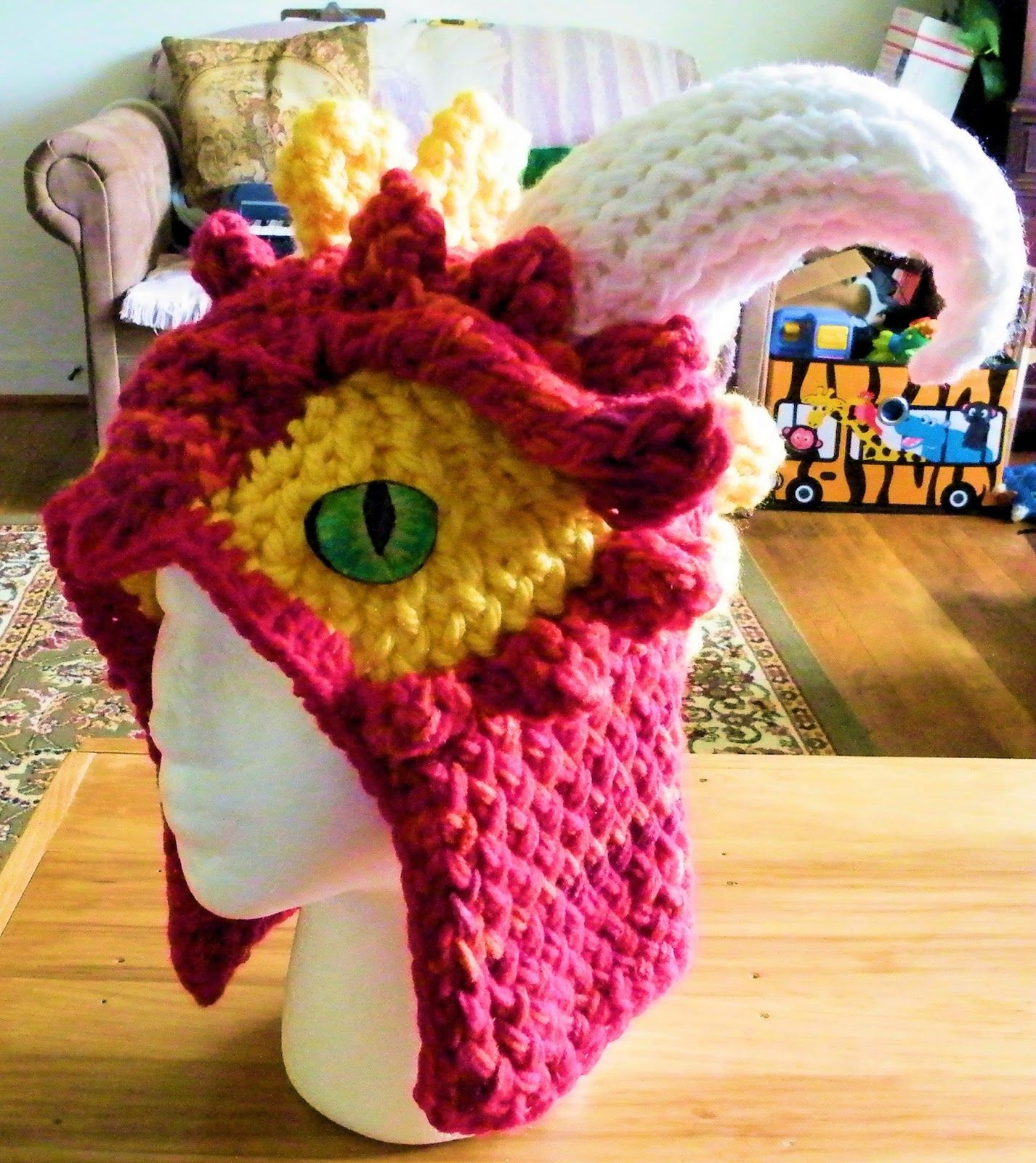 The Loom Muse Creations and Ideas: How to Loom Knit Horns and Spikes ...