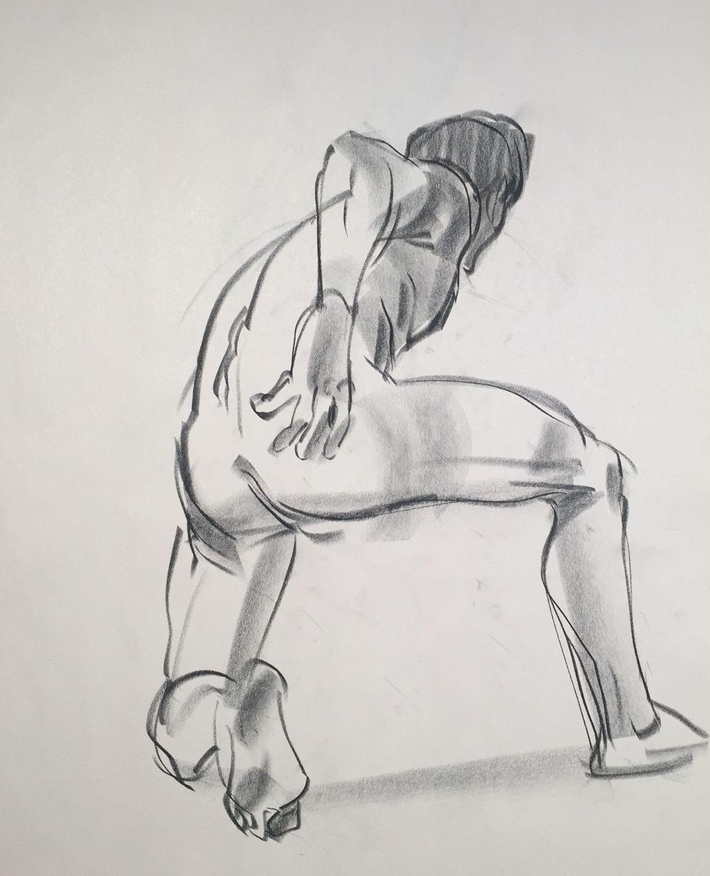 Grizandnorm 이미지 포함 피규어 드로잉 인물 스케치 포즈 그리기