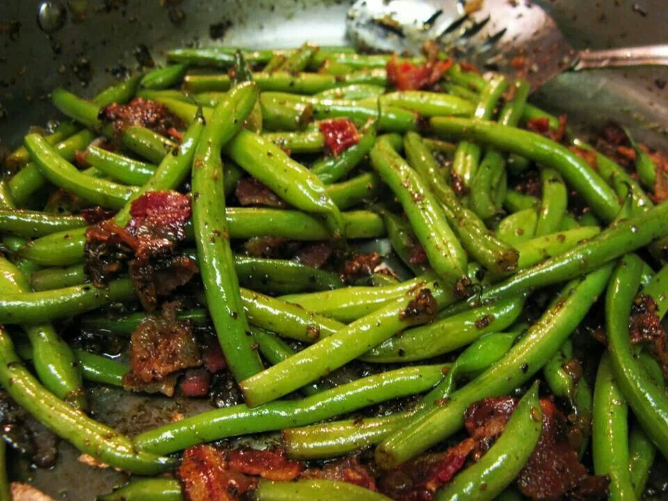 Smothered green beans | RECIPES | Pinterest
