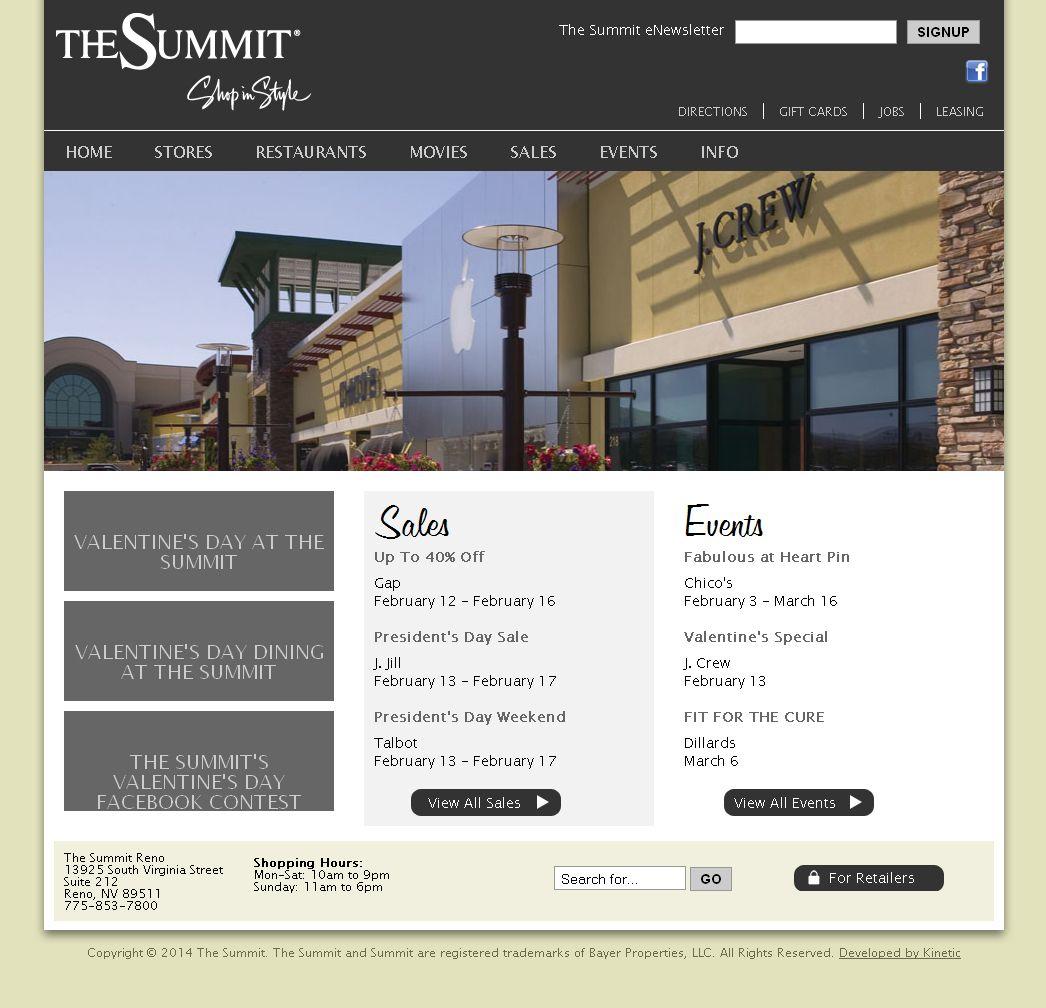 The Summit Reno >> The Summit Reno Shopping Renomalls Shopping Recreation