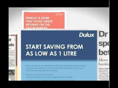 Dulux Paint Bank (BBDO/Proximity Malaysia) Dulux paint