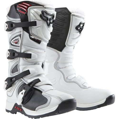 Racing White Youth Boots Mx Fox Comp 5 – Motorcycle Boys Ify6m7bgvY