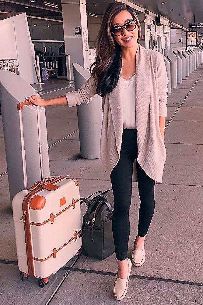 Photo of 39 Airplane Outfits Ideas: How To Travel In Style