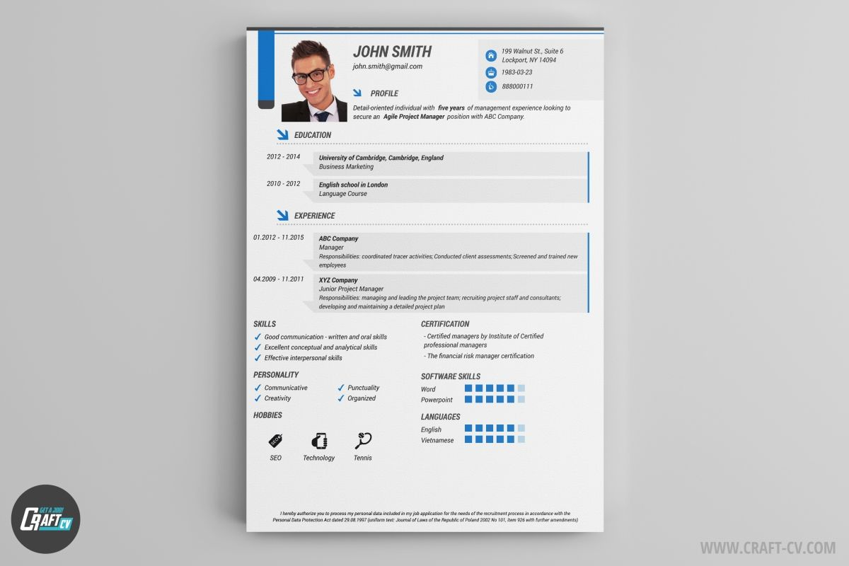 Resume Builder 36 Resume Templates Download Craftcv Free
