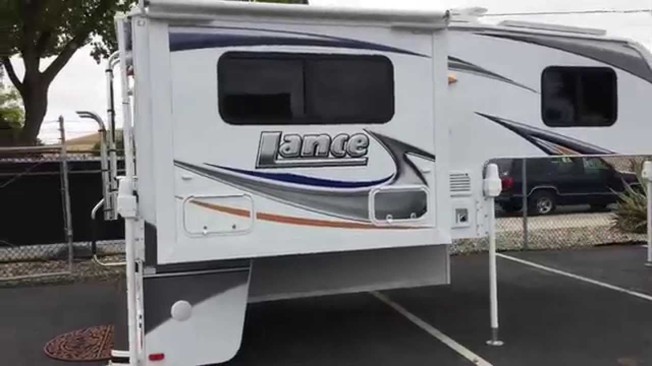 For sale lance 855s truck camper in livermore ca pro