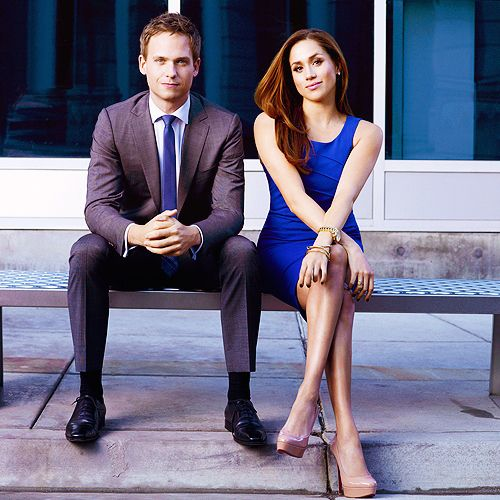 Mike and Rachel #Suits