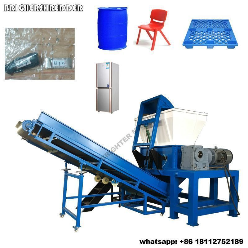 China Heavy Duty E Waste Shredder For Size Reduction With Good