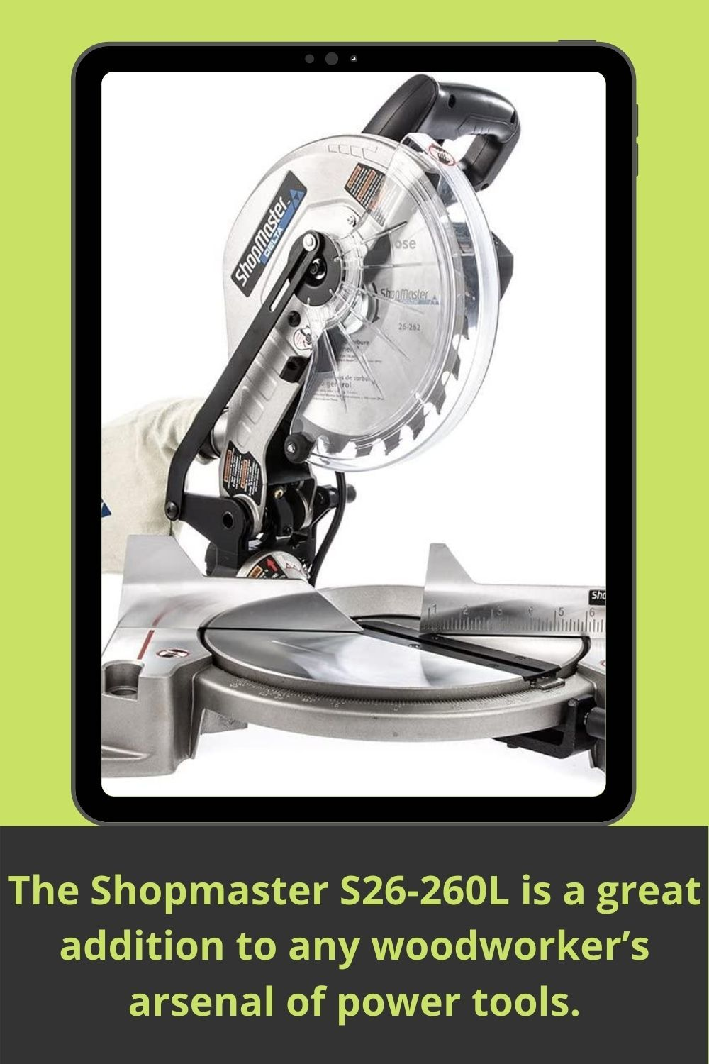 Delta Power Equipment Corporation S26 262l 10 Shop Master Miter Saw With Laser In 2020 Miter Saw Mitered Homeowners Guide