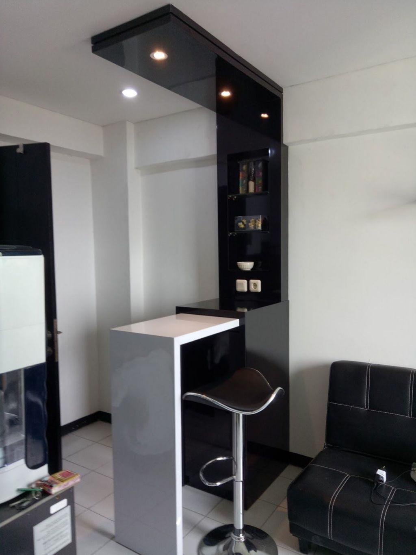 Black And White Minibar Kitchen Kitchen Bar Design Modern Home Bar Home Bar Designs