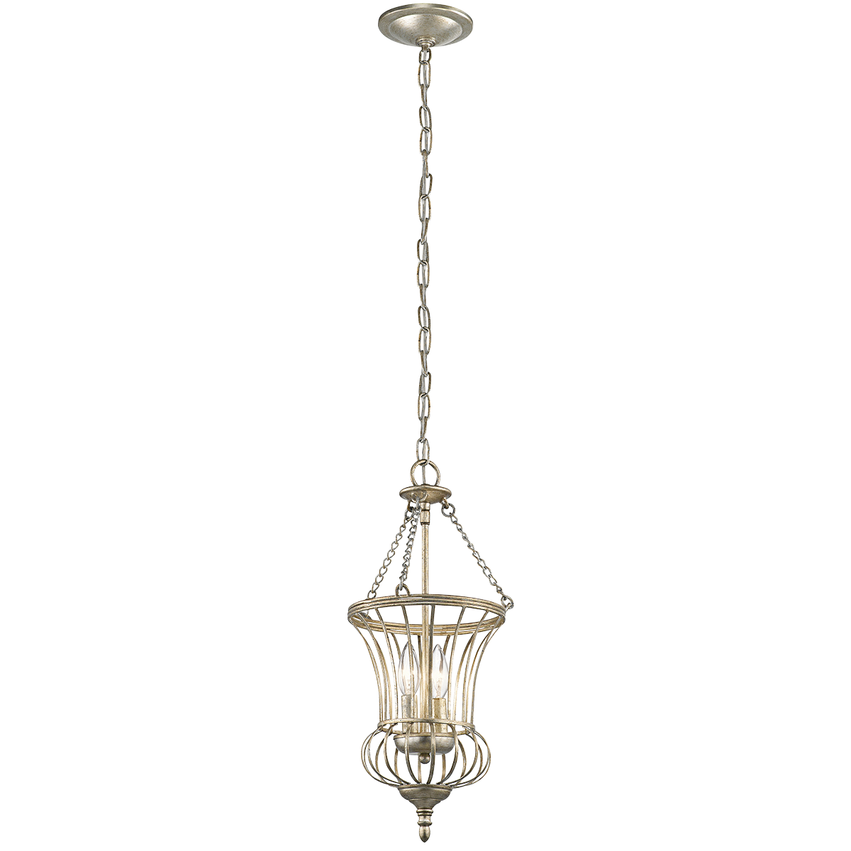 Calla 2 light foyer pendant sterling gold 42610sgd kichler calla 2 light foyer pendant sterling gold 42610sgd kichler arubaitofo Gallery