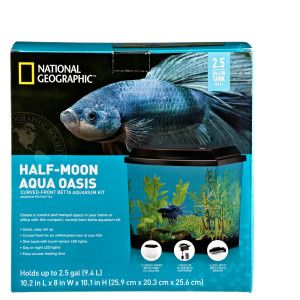 National Geographic Half Moon Aqua Oasis Starter Kit