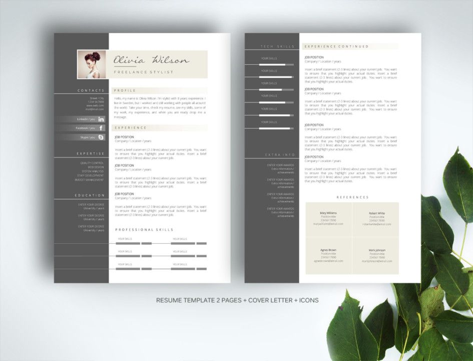 Unique Resume Templates Prepossessing 21 Web Designer Resume Templates  Indesign Psd Ms Word Ai Decorating Design