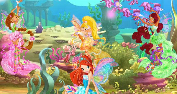 Juegos infantiles online de Winx Club  Winx club TVs and Movie