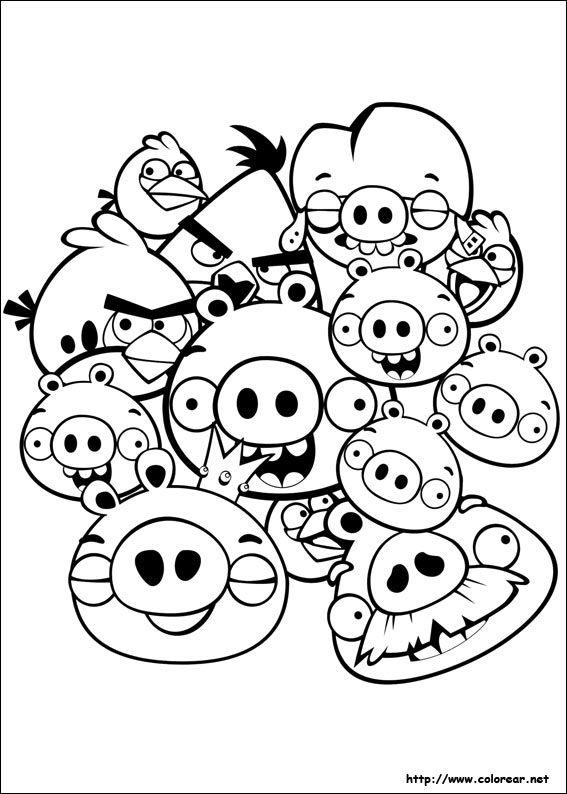Dibujo de para imprimir ! | Acciones | Pinterest | Angry birds ...