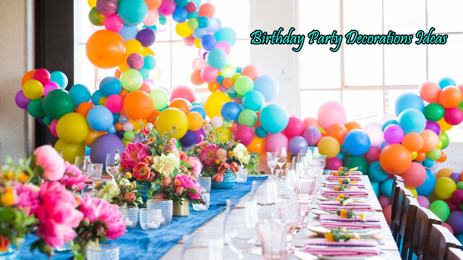 Cheap Party Supplies Uk Balloon Garland Colorful Birthday Party Balloons