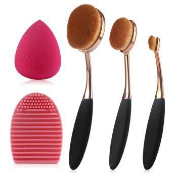 share  get it free  3 pcs toothbrush shape makeup