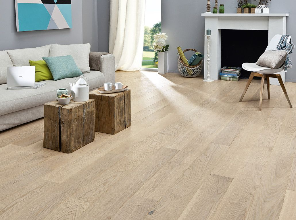 D co salon parquet clair Deco parquet