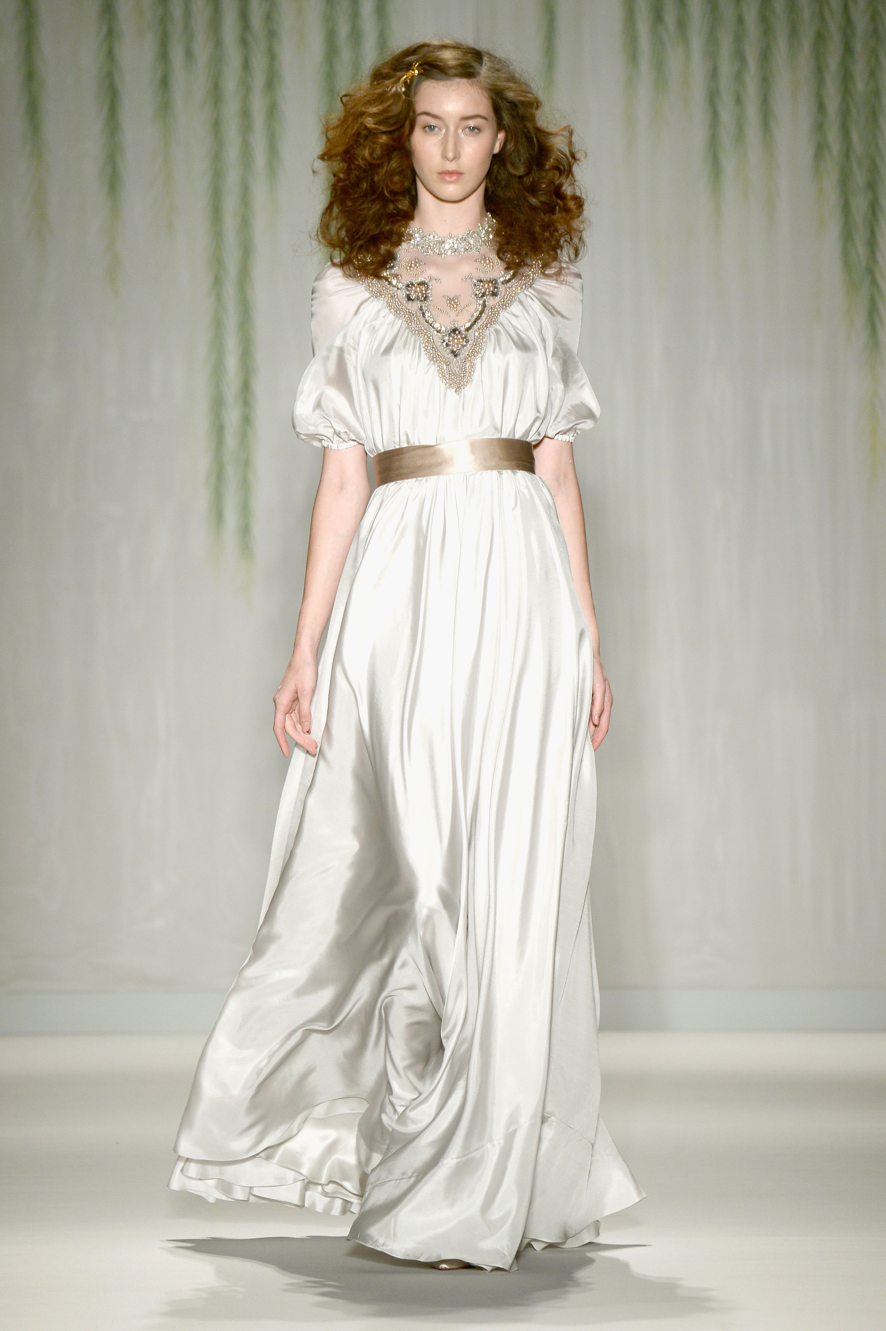 6534299fe3118 Jenny Packham Mercedes-Benz Fashion Week Spring 2014 - Runway – Go Fug  Yourself