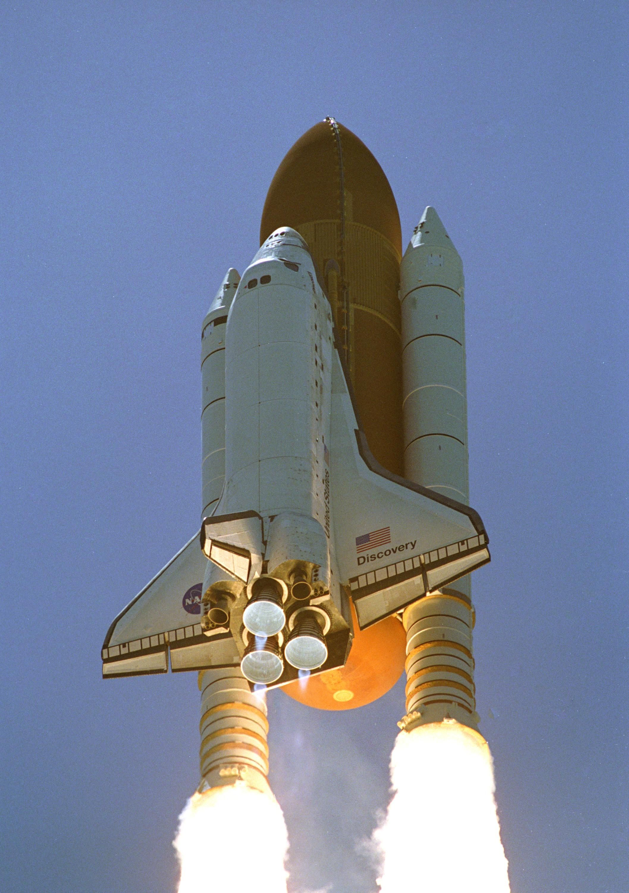 visit space shuttle discovery - photo #24