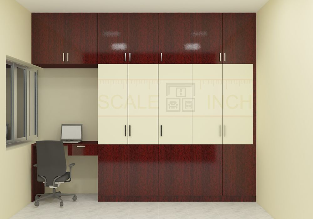 Macadamia Wardrobe With Laminate Finish In 2019 Kapat Wardrobe Design Bedroom Wardrobe