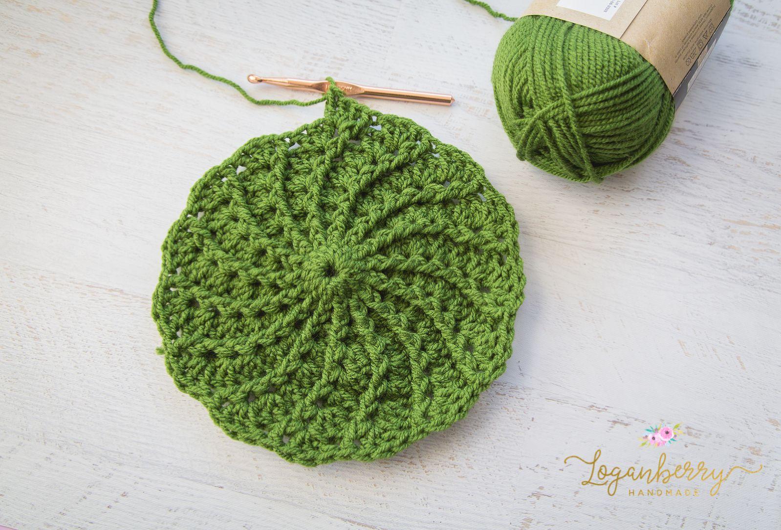 Spiral Crochet Pattern Simple Inspiration Design