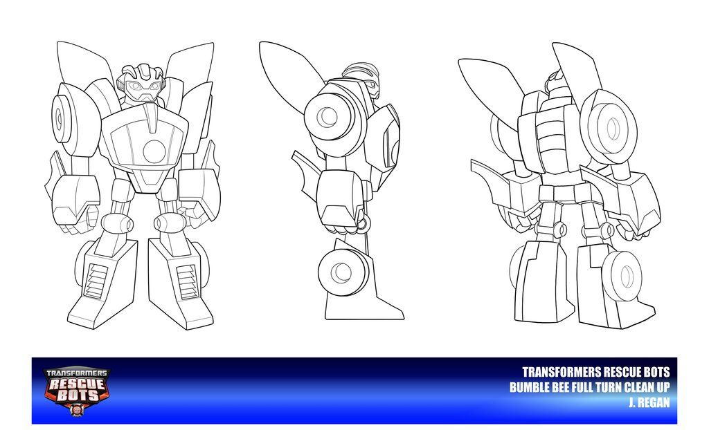 Rescue Bots Bumble Bee Clean Up By Thegreatjery Deviantart Com On