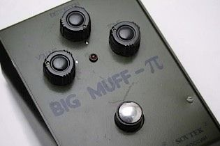 Sovtek Big Muff - This is the one - not the other 400 big muff versions, and not the other sovtek versions.  Except maybe a civil war.  Which I will also pin.