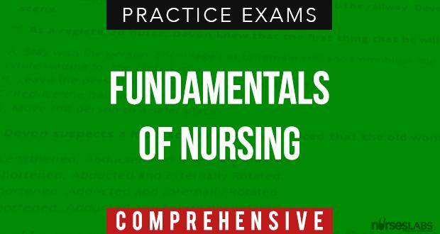 Fundamentals of Nursing Exam 7: Nursing Process, Procedures