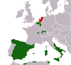 The Spanish Empire And The Dutch Republic In Following The - Europe map 1648 westphalia